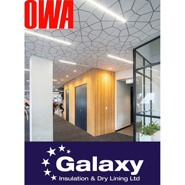 Proud to stock OWA Ceiling Systems!