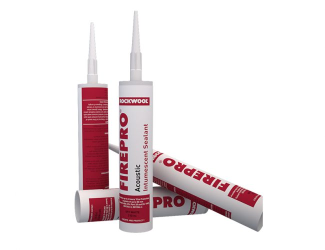 Rockwool Acoustic Intumescent Sealant