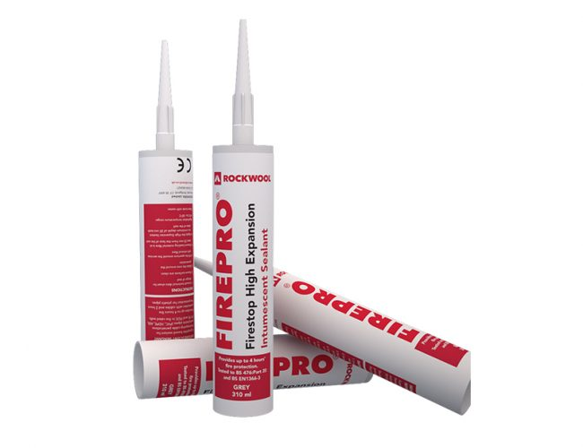 Rockwool High Expansion Intumescent Sealant
