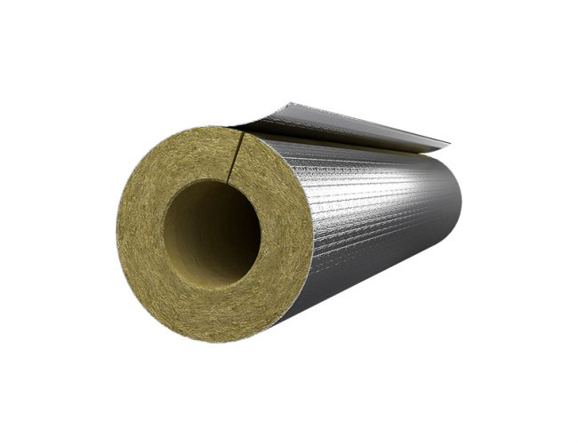 Rockwool Rocklap H&V Pipe Sections