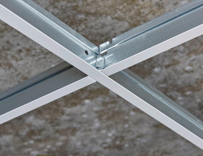 Rockfon Chicago Metallic™ Grid & Perimeter Trim - T15 Click 2790 (White 001)