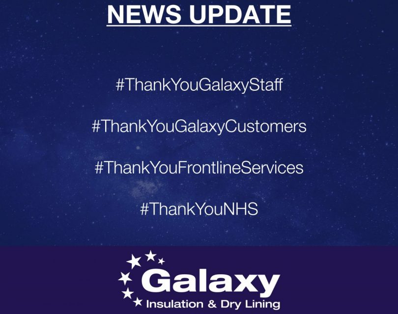 Galaxy Insulation & Dry Lining - Current Situation Update