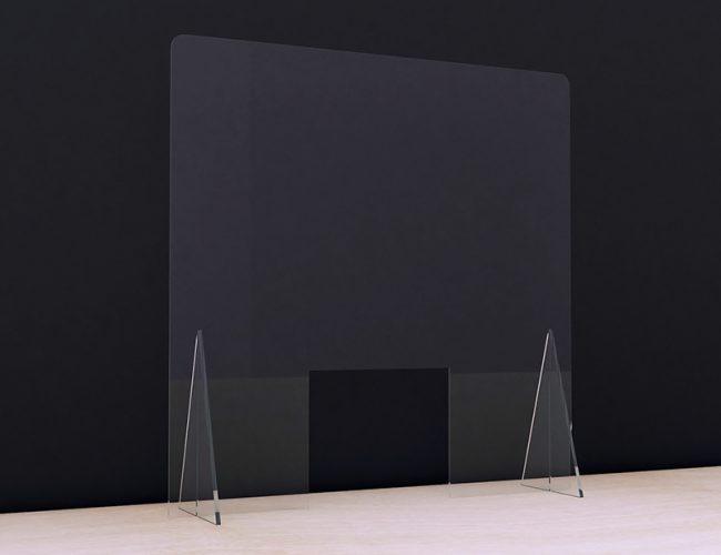 Covid 19 Perspex Protective Counter Screen