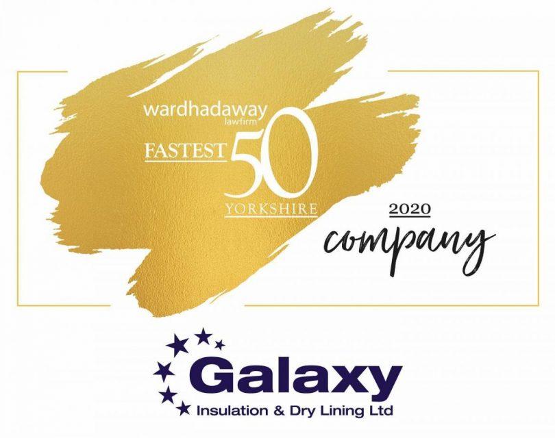 Fastest 50 Growing Company's Award