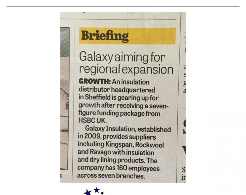 Bank Backing for Insulation Distributor