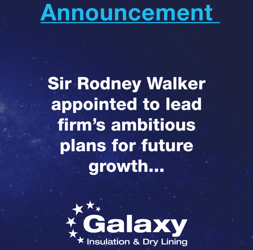 Sir Rodney Walker appointed to lead firm's ambitious plans for future growth...